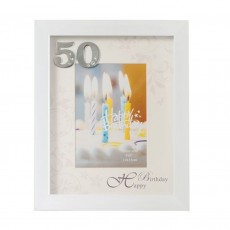 "50th Birthday ""Divine "" Photo Frame 4X6"""