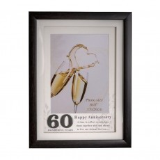 Heritage 60th Anniversary Frame 6x8""