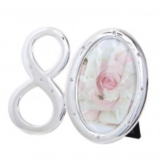 Number 80 Photo Frame with Diamontes