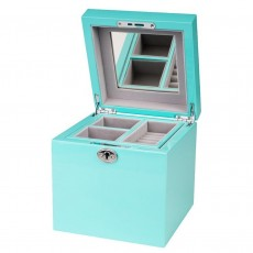 Jewellery Box, Holly, Turquoise
