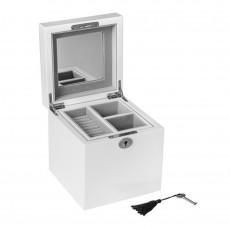 Jewellery Box, Khloe, White