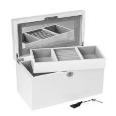 Jewellery Box, Kim, White