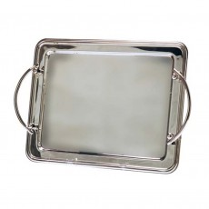 Presentation Tray, Stainless Steel Rectangular