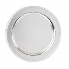 """Regency Heavy Gauge Silver Plate Tray 14"""""""