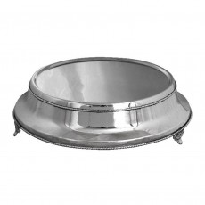 Cake Stand, Plain, Round Nickel Plated