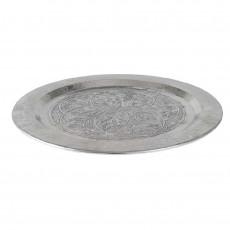 Aluminium Hammered Circular Tray