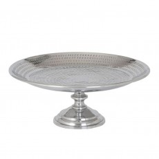 'Cross' aluminium Footed Plate