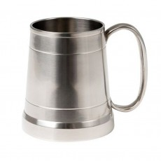 James Tankard Pewter Finish on Brass