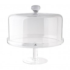 Visla Duke Cake Stand With Cover 28cm