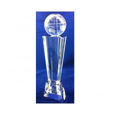 Crystal Globe Pillar Award
