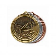 Swimming Sculptured Medal