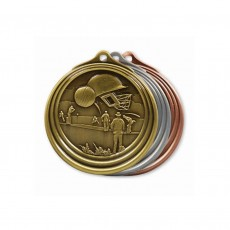 Cricket Sculptured Medal