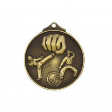 Karate Sculptured Medal