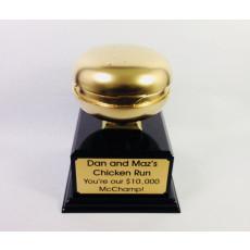 Mounted figurine custom award