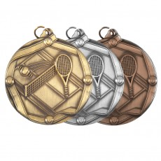 Tennis Sculptured Medal