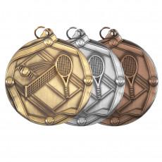 Tennis Sculptured Medal