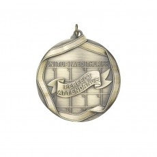 Perfect Attendance Medal 60mm