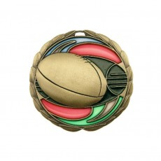 Stained Glass AFL Medal