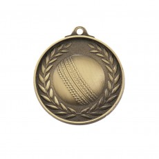 Antique Gold Cricket Medal