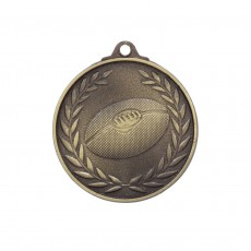 AFL Wreath Antique Gold Medal