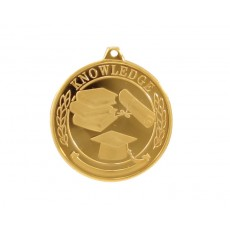 Academic Knowledge Gold Medal 50mm