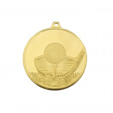 Golf Glacier Frosted Medal