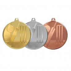 Cricket Glacier Frosted Medal