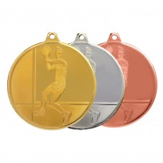 Netball Glacier Sculptured Medal