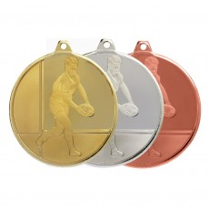 Rugby Glacier Sculptured Medal