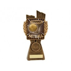 Netball 'Lynx' Resin Trophy
