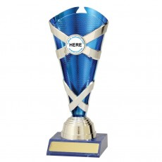 Netball ' Spectrum Cups' Trophy (Blue)