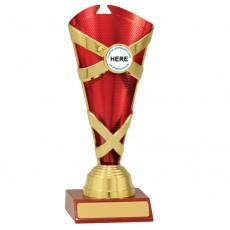Netball ' Spectrum Cups' Trophy (Red)