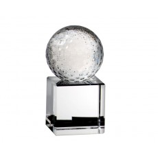 Crystal Golf Ball on Base