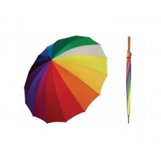 Shelta Rainbow Umbrella, 16 Colours in one umbrella