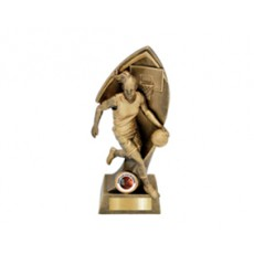 Basketball Female Resin Trophy