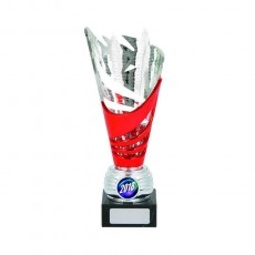 Trophy Cup Red/ Silver
