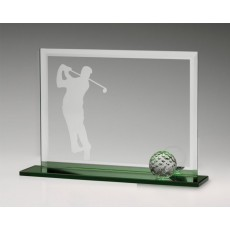 Golf Fairway Glass Award