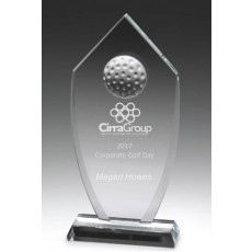 Golf Glass Shield Award