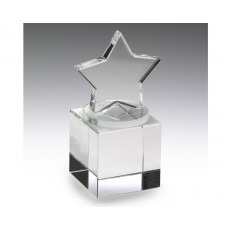 Crystal Star on Square Base