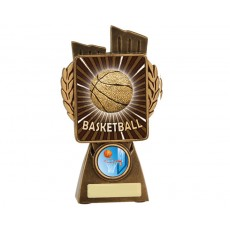 Basketball 'Lynx' Resin Trophy