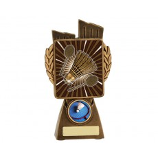 Badminton 'Lynx' Resin Trophy