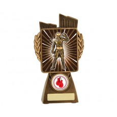 Boxing 'Lynx' Resin Trophy