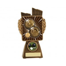 Lawn Bowls 'Lynx' Resin Trophy