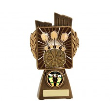 Darts 'Lynx' Resin Trophy
