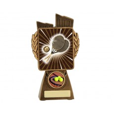 Tennis 'Lynx' Resin Trophy