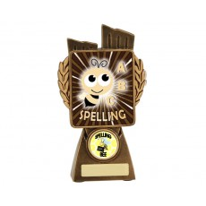 Spelling 'Lynx' Resin Trophy