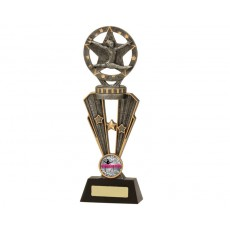 Gymnastics Female Star Galaxy Trophy