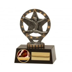 Gymnastics Girl Mini Resin Trophy