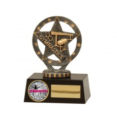 Gymnastics Star Mini Resin Trophy