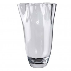 Visla 'Petticoat' Glass Vase, 330mm